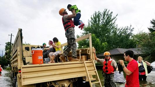 heroes of hurricane harvey